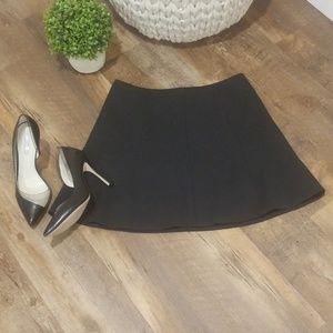 J. Crew Black Skirt Size 4